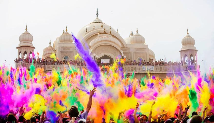 The Daydream Diaries Holi Festival