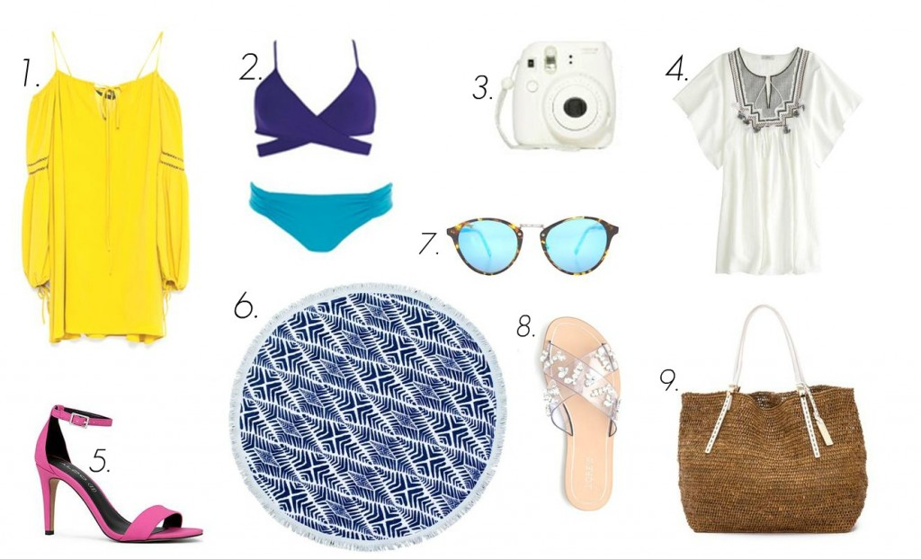 The Daydream Diaries- Mexico Packing