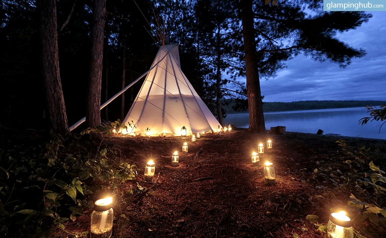 3 Places to Glamp this Fall 2