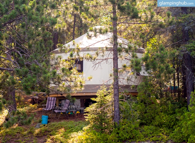 3 Places to Glamp this Fall