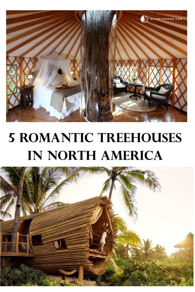 5 ROMANTIC TREEHOUSES